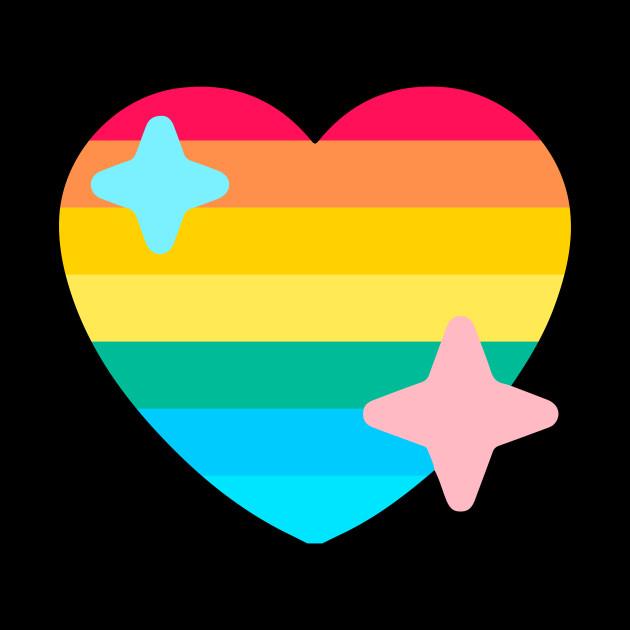 Gay Pride Twitter Heart Emoji Pride 2018 Mug Teepublic