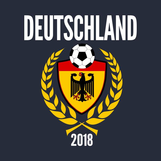 ... Germany Soccer Jersey World Emblem 2018 Football Cup Fussball Design  for Deutschland Soccer and Mannschaft fans c701d6515