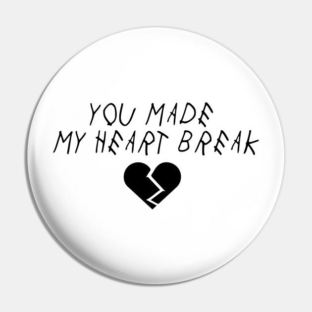 Heart Break Juice Depression Break Up Alone Girl Friend Sad Depressed Heart Sad Love Break Emo Pin Teepublic