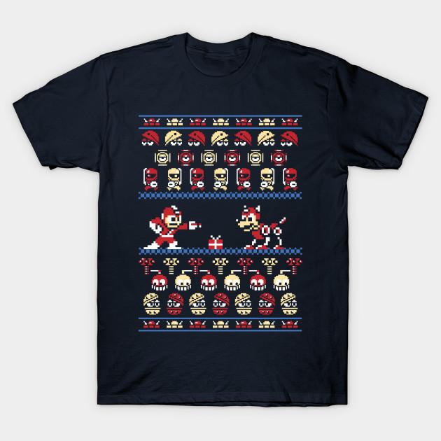 Ugly Sweater Christmas.Christmas Man Megaman Ugly Sweater Christmas Sweater Holiday Sweater