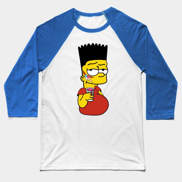 db13afae77c Bart Simpson x Gucci Mane - Illustration - Baseball T-Shirt