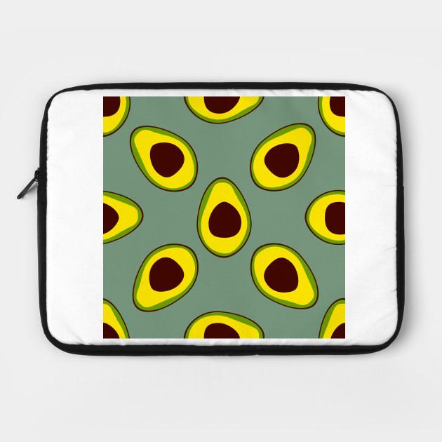 Avocado Pattern Seamless By Choche