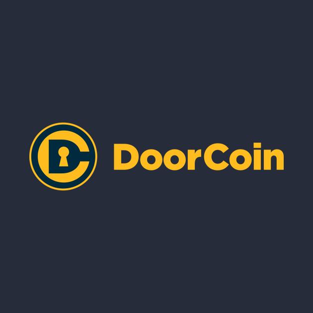 DoorCoin Logo Reversed