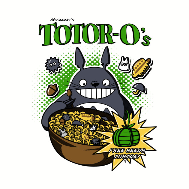 Totoro's Cereal
