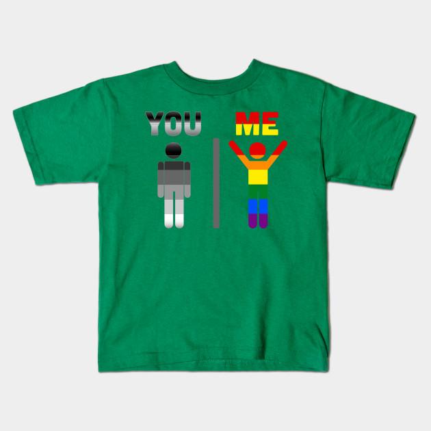 01db97bc69c You Me LGBT Gay Pride T shirt - Lgbt Community - Kids T-Shirt ...
