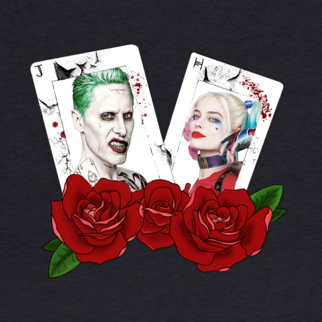 Joker and Harley on Cards
