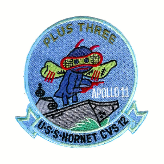 USS Hornet Recovery Patch of Apollo 11