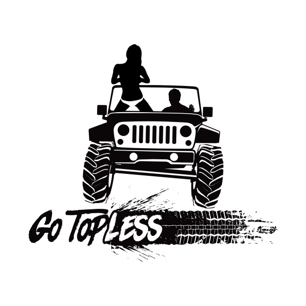 Jeep Go Topless D Tire Track