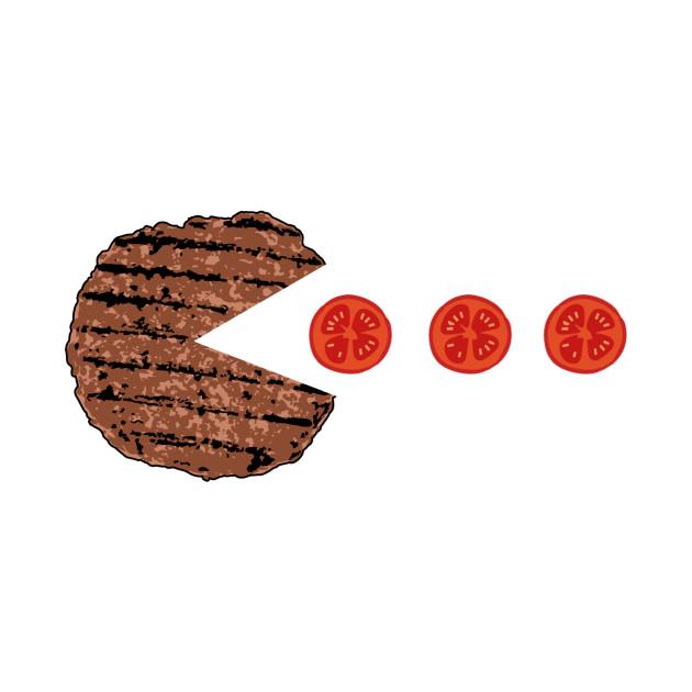 Burger Pacman!