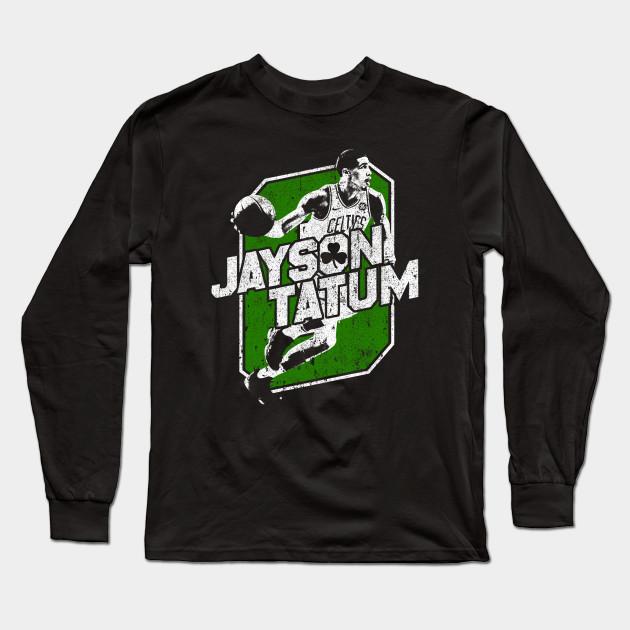a407d001c31 Jayson Tatum - Boston Basketball - Long Sleeve T-Shirt