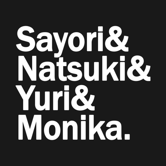 DDLC - Sayori Natsuki Yuri Monika