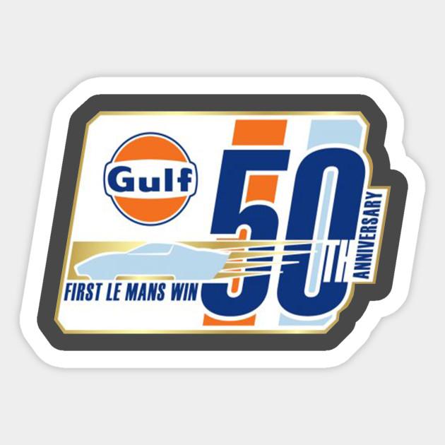 Gulf Logo Vinyl Car Decal