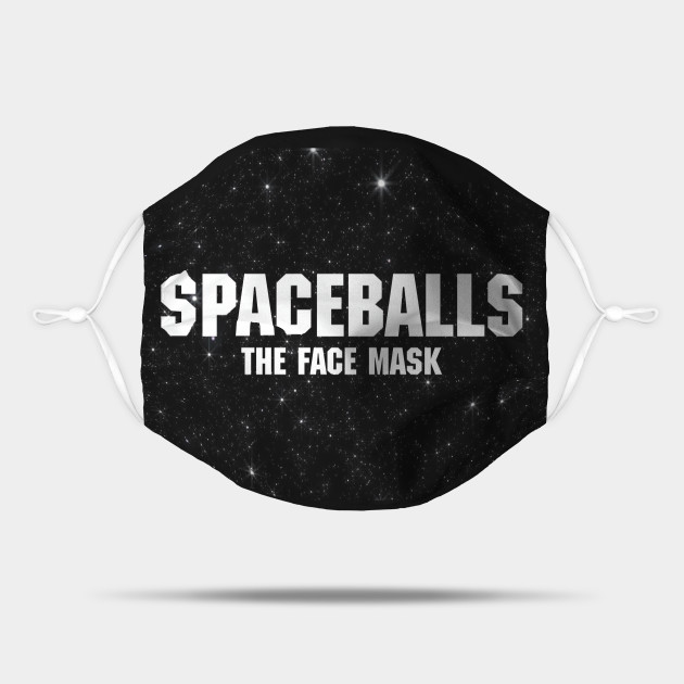 Spaceballs The Face Mask Galaxy Background
