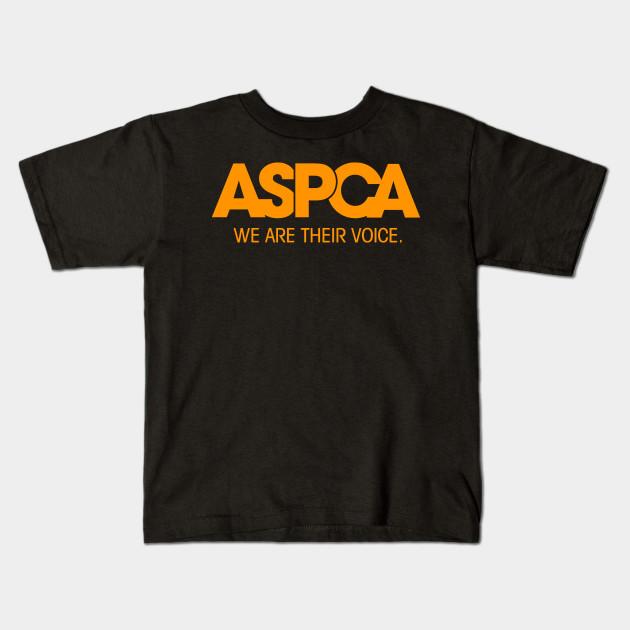 5e8215e7b73d67 aspca we are their voice - Aspca We Are Their Voice - Kids T-Shirt ...