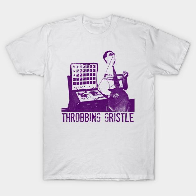 "Throbbing Gristle Band T-shirt HD imprimé graphique s-3XL /""jazzgreats/'s Industrial//art"