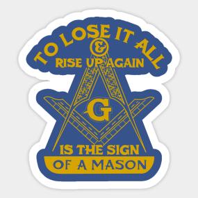 Freemason Stickers | TeePublic