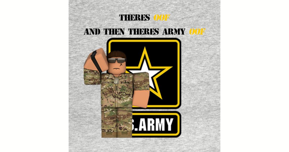 Roblox Army T-shirt - Roblox - Baseball T-Shirt