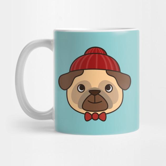 a9318bdf901 Beanie Pug Is Kawaii And Cute - Pug - Mug