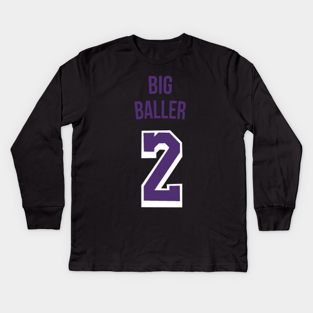 sale retailer ab629 25bd0 Lonzo Ball 'Big Baller' Nickname Jersey - Los Angeles Lakers