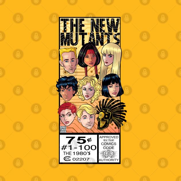 The New Mutants Comic Corner Box