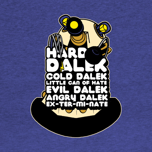 Hard Dalek, Cold Dalek 2014