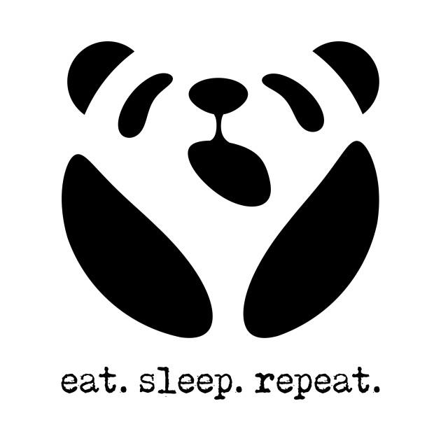 Panda: Eat. Sleep. Repeat.