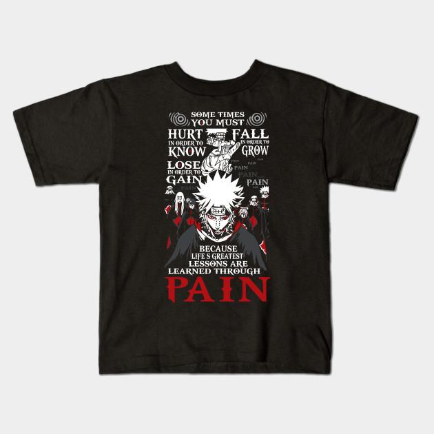 Naruto Akatsuki Pain Shirt Naruto Kids T Shirt Teepublic