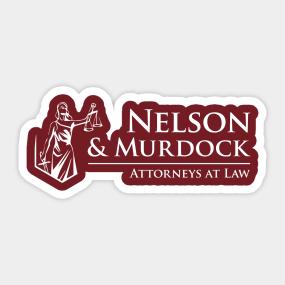 51ded5b6e36d Nelson   Murdock Sticker