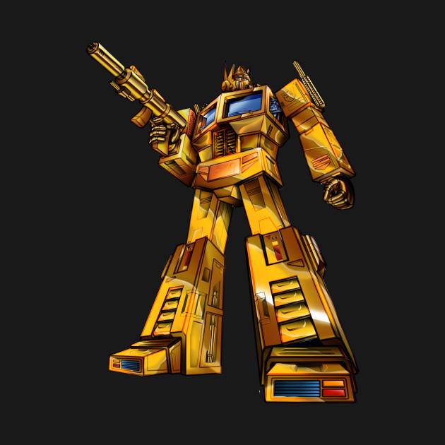 Gold Optimus Prime