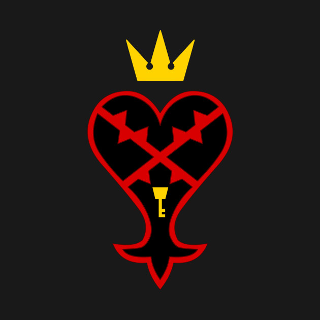 Kingdom Hearts Heartless Symbol Kingdom Hearts T Shirt Teepublic