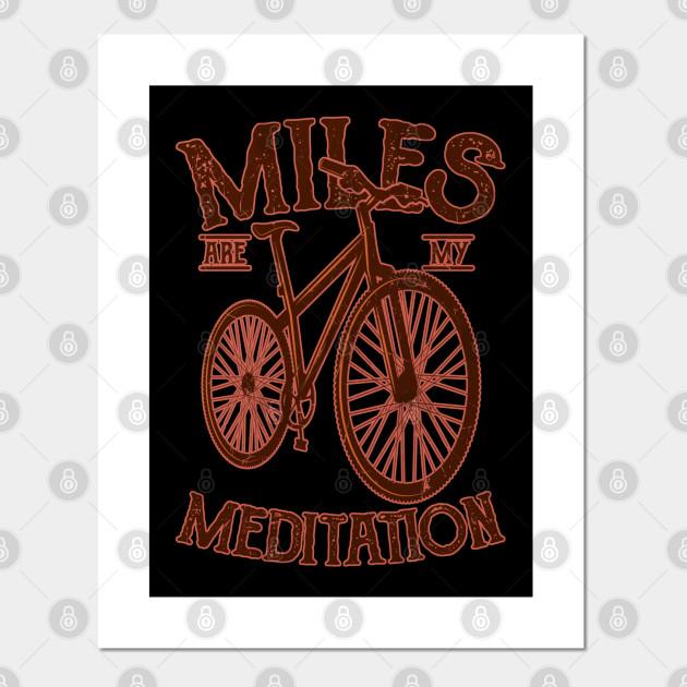 MEDITATION Bike Gift For Cyclists