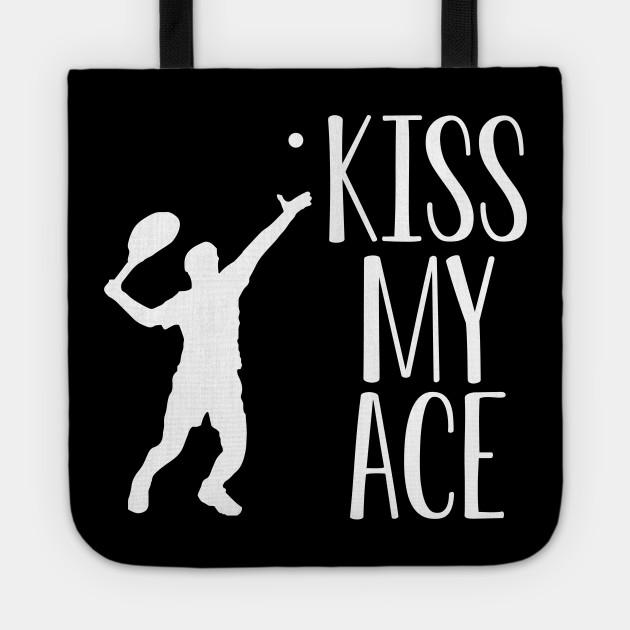 Kiss My Ace-Taza de tenis