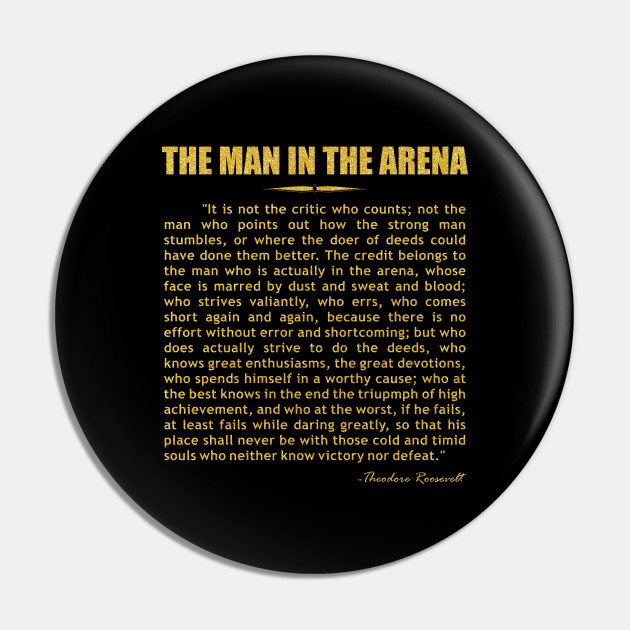the man in the arena speech