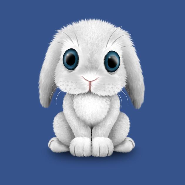 5fbd4a417 Cute White Baby Bunny Rabbit