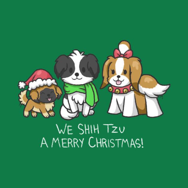 Shih Tzu a Merry Christmas