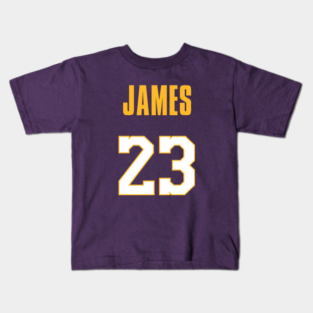 online store 3e076 0d3ee LeBron James Lakers Jersey 2