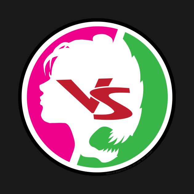 GIRLS vs MONSTERS Logo Shirt