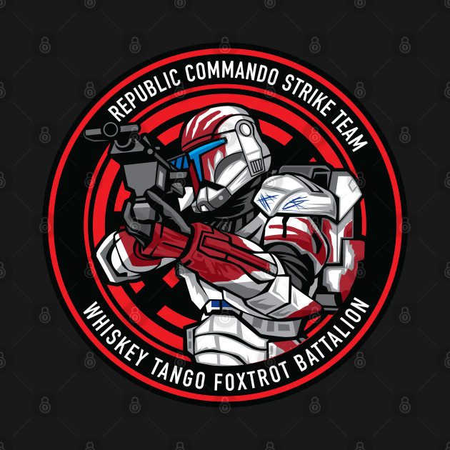 Whiskey Tango F.B. Republic Commando 2