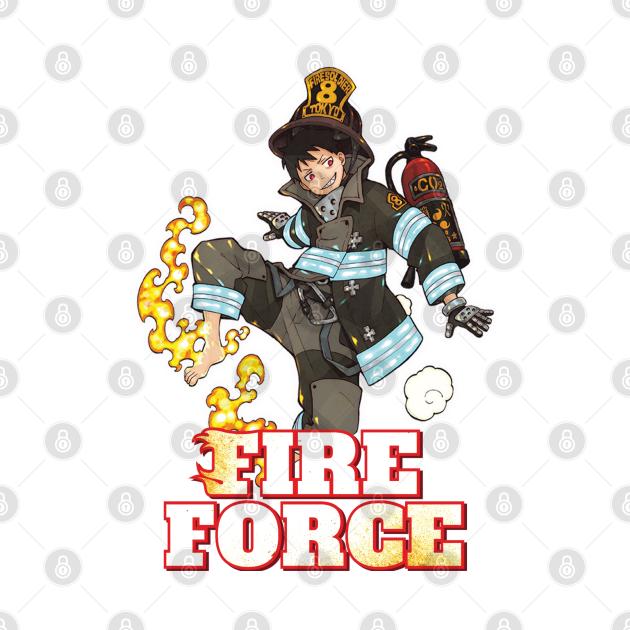 Shinra Kusakabe Enen no shouboutai - Fire Force Manga Series