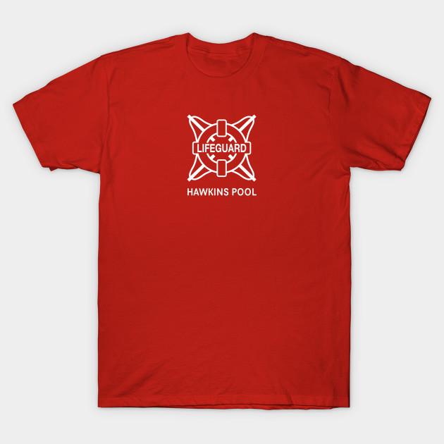 e207a2dae491 Stranger Things - Hawkins Pool Lifeguard - Stranger Things - T-Shirt ...