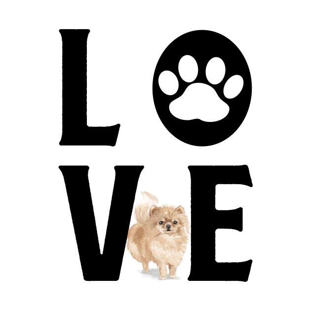 Dog Love - Pommeranian