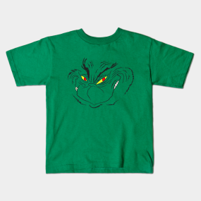 grinning grinch face kids t shirt - How The Grinch Stole Christmas Sweater
