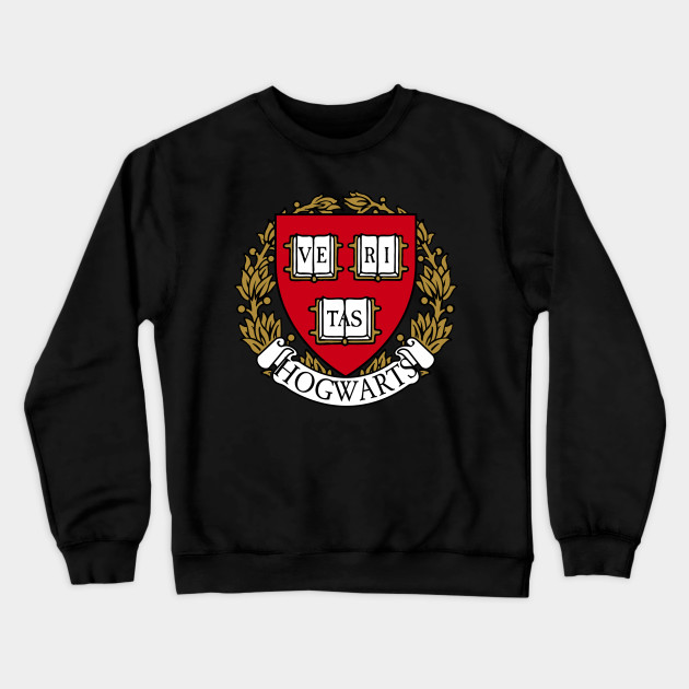look out for amazing price great look Hogwarts School Emblem Harvard Humor