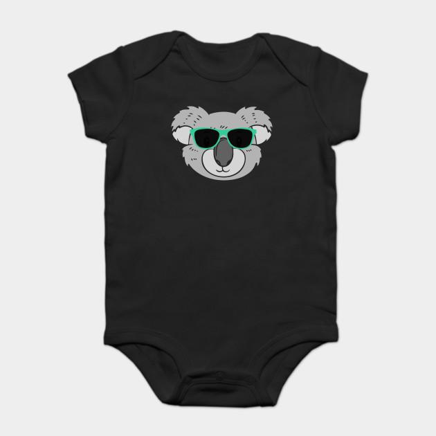 f947ba34fc1 Cute Koala Wearing Sunglasses - Koala - Onesie
