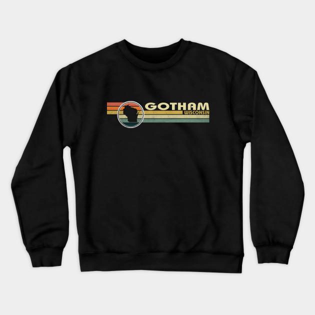 Gotham City Vintage Long Sleeve T-shirt
