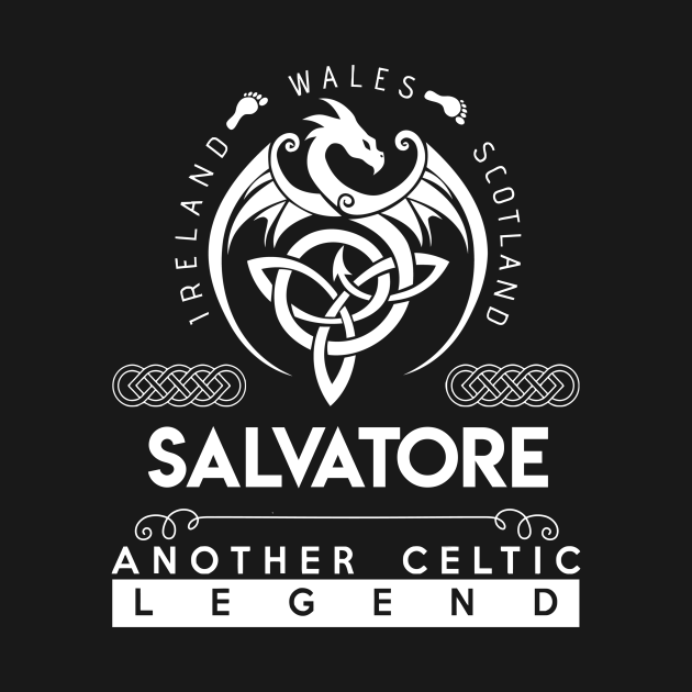 Salvatore Name T Shirt - God Found Strongest And Named Them Salvatore Gift Item