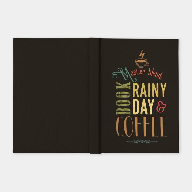 Coffee, book & Rainy Day