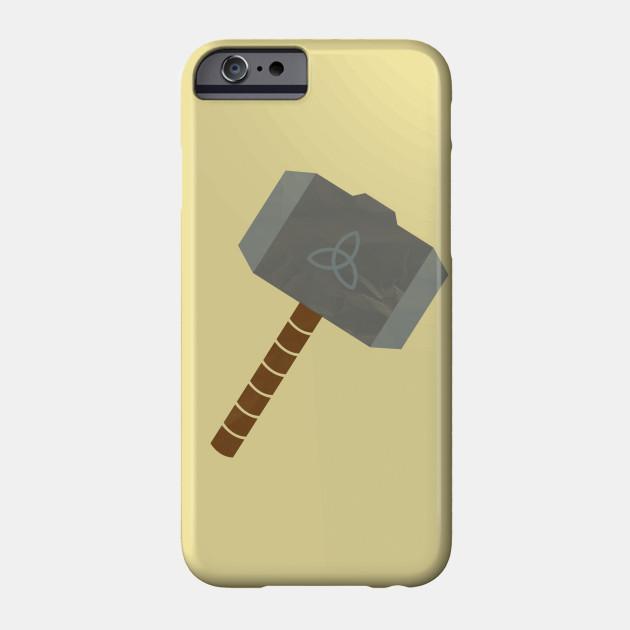 thor s hammer symbol thors hammer phone case teepublic