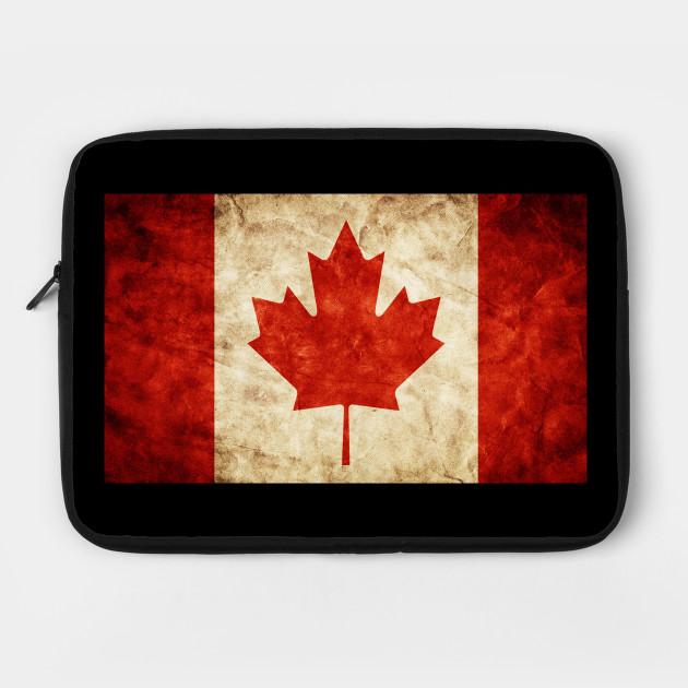Vintage Canadian pride Canada Flag