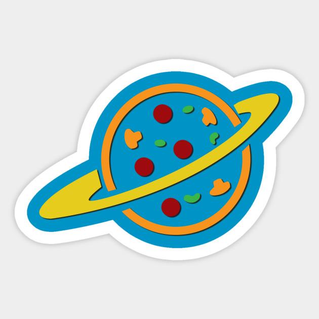 Pizza Planet Pizza Planet Sticker Teepublic